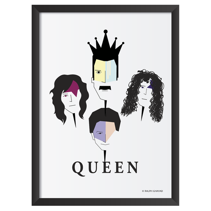 Queen Art Frame