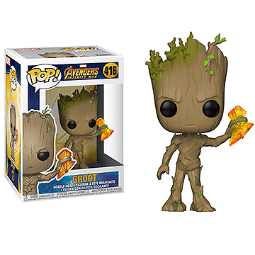 Groot with Stormbreaker - POP! Marvel - Avengers Infinity War