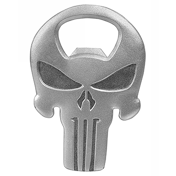 The Punisher Skull Metal Bottle Opener