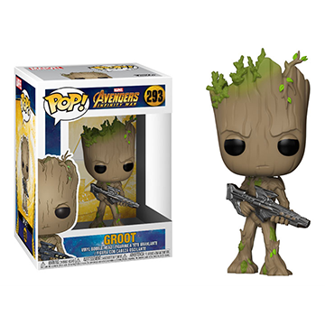Groot With Gun - POP! Marvel - Guardians of the Galaxy
