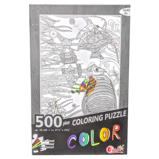 Fish Coloring Puzzle 500pcs