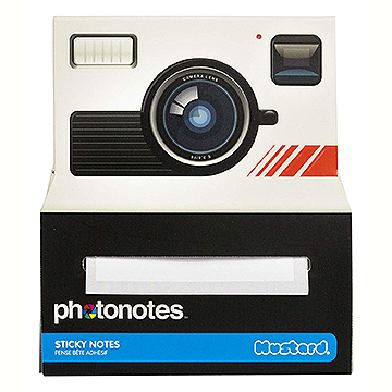 Photonotes Camera Shaped Sticky Notes