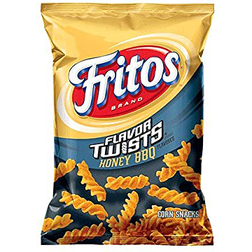 Fritos Honey BBQ Twisted Corn Chips 283g