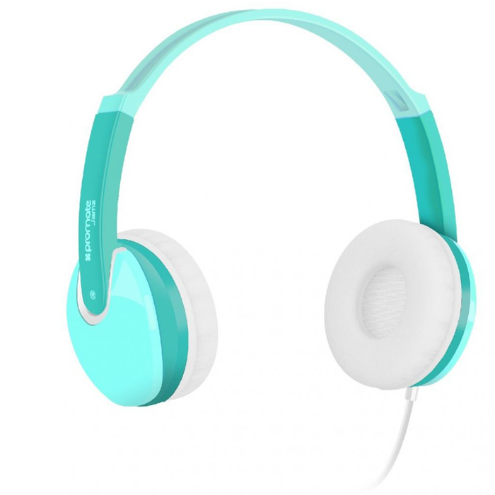 Promate Kids Over The Ear Wired Headset (Green)