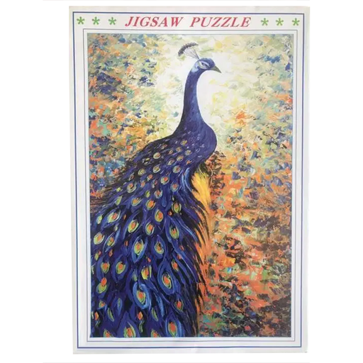 Peacock Jigsaw Puzzle 1000pcs