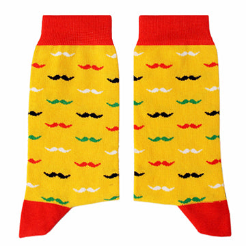 SIKASOK Moustache Socks