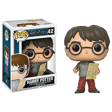 Harry Potter with Marauders Map - POP! Movies - Harry Potter