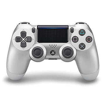 PS4 DUALSHOCK 4 SIlver Wireless Controller