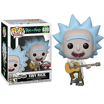Tiny Rick with Guitar - POP! Animation - Rick & Morty