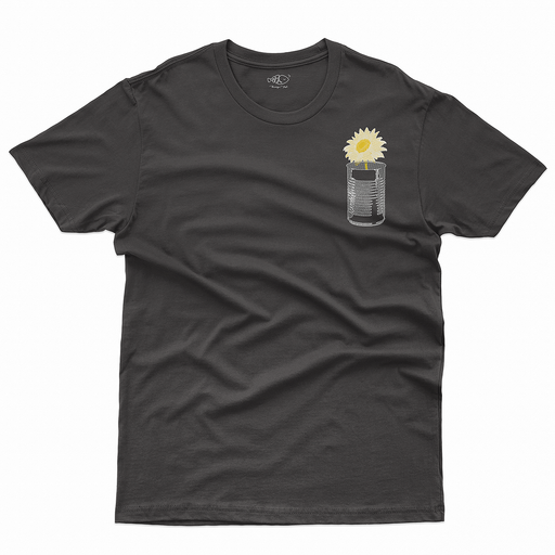 Bloom Pot Black T-Shirt