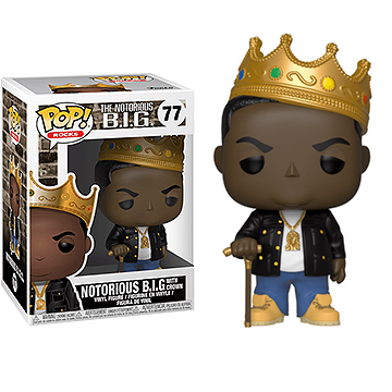Notorious B.I.G. Crown - POP! Rocks - Music