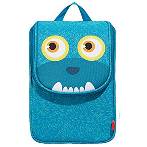 Wildlings Lunch Bag with Straps (Blue)
