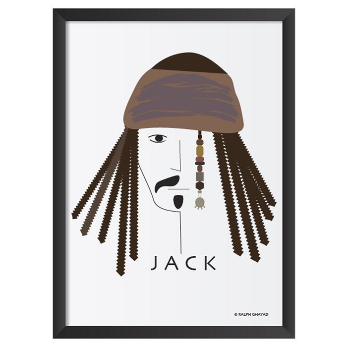 Captain Jack Art Frame