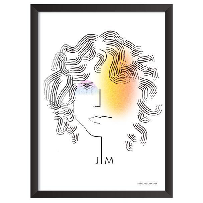 Jim Morrison Art Frame