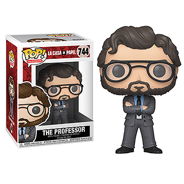 The Professor - POP! Television - La Casa de Papel
