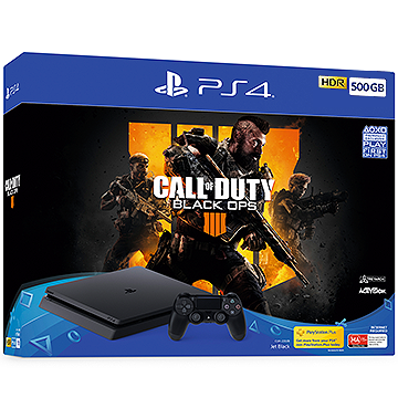Sony PS4 500GB Console with Call of Duty: Black Ops 4