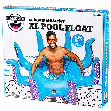 Giant XL Octopus Pool Float