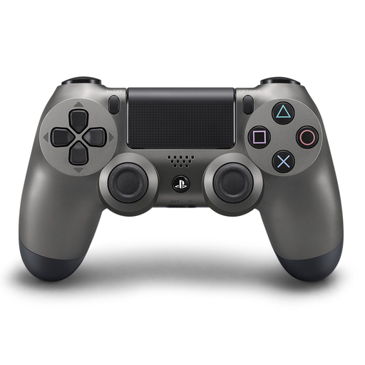 PS4 DUALSHOCK 4 Steel Black Wireless Controller