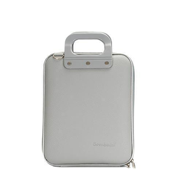 Microbombata Briefcase for 11 Inch Tablets/Laptops (Grey)