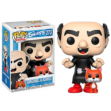 Gargamel with Azrael -  POP! Animation - The Smurfs