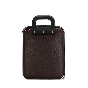 Microbombata Briefcase for 11 Inch Tablets/Laptops (Brown)
