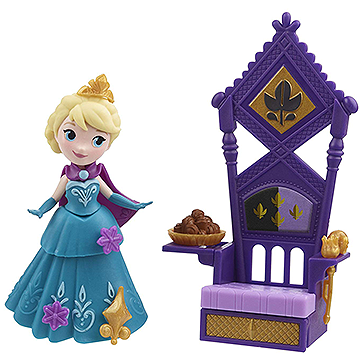 Elsa & Throne - Disney Frozen Little Kingdom