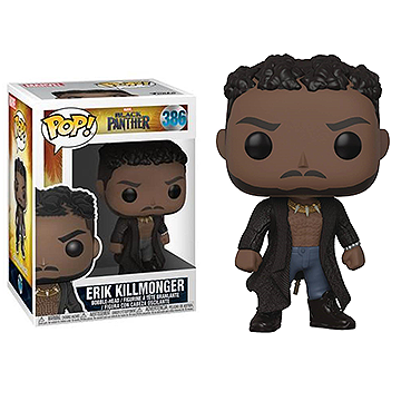Erik Killmonger (With Scars) - POP! Marvel - Black Panther