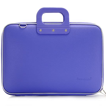 Bombata Classic Briefcase for 15 Inch Laptops (Violet)