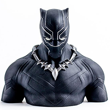 Black Panther Money Bank Bust