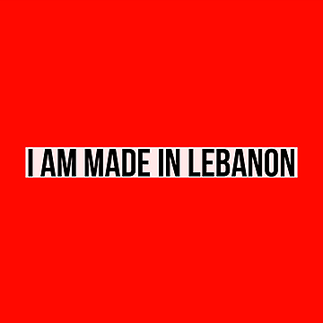Made in Lebanon Sticker
