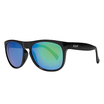 Zippo Oversized Green Multicoating Sunglasses