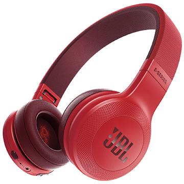 JBL E45BT Red Headphones