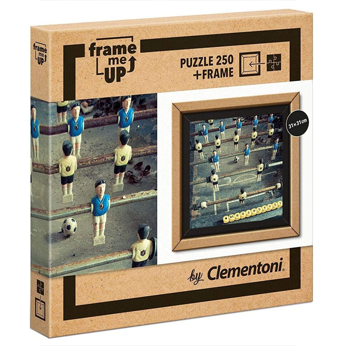 Clementoni Foosball Frame Me Up 250 pcs Puzzle