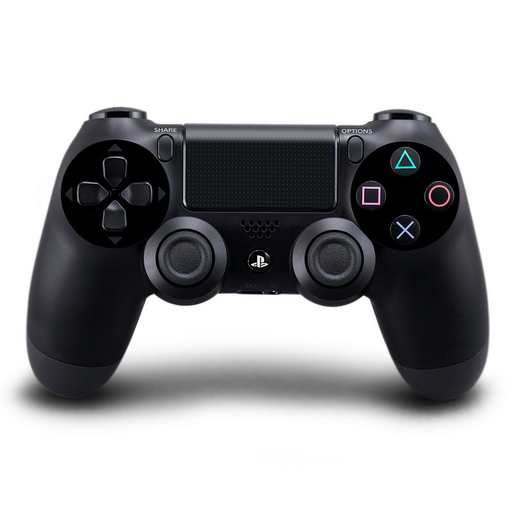 PS4 DUALSHOCK 4 Jet Black Wireless Controller