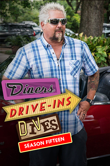Diners, Drive-ins and Dives Season 15 2012