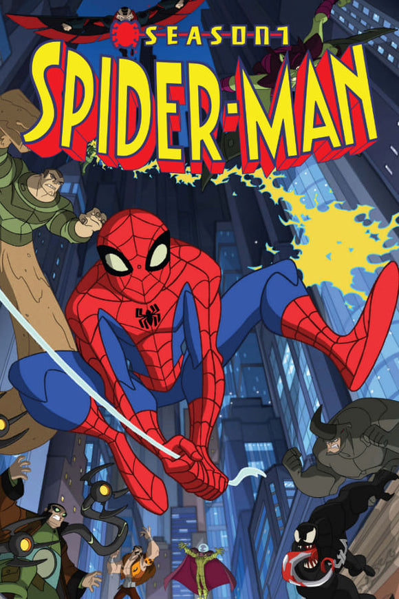 The Spectacular Spider-Man Season 1 2008
