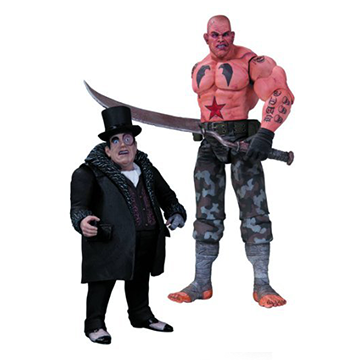 Sickle & Penguin - DC Collectibles - Batman: Arkham City