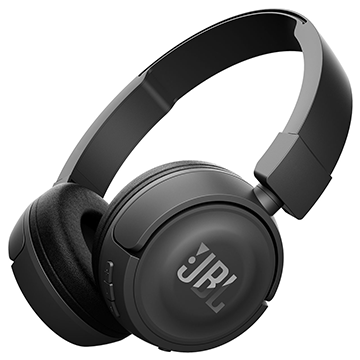 JBL T450BT Black Headphones
