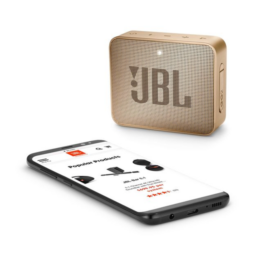 JBL GO2 Champagne Wireless Speaker