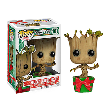 Dancing Holiday Groot - POP! Marvel - Guardians Of The Galaxy
