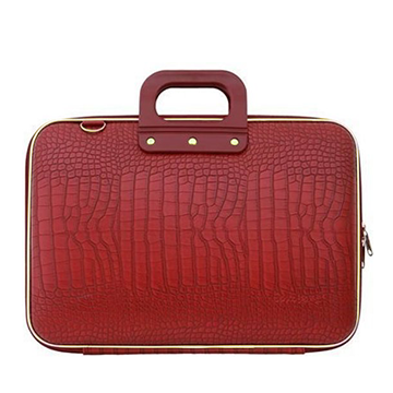 Bombata Cocco Gold Line Briefcase For 13 Inch Laptops (Red)