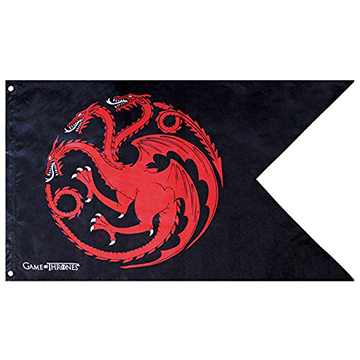 Targaryen Flag - Game of Thrones