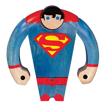 Superman Wood Figure - DC Collectibles - DC Comics