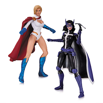 Powergirl & Huntress - DC Collectibles - The New 52: Earth 2