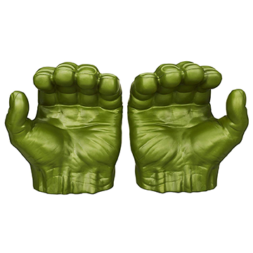 Hulk Gamma Grip Fists - The Avengers