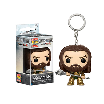 Aquaman - Pocket POP! Keychain - Justice League