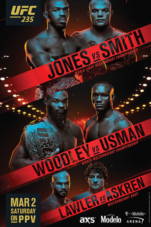 UFC 235: Jones vs. Smith 2019