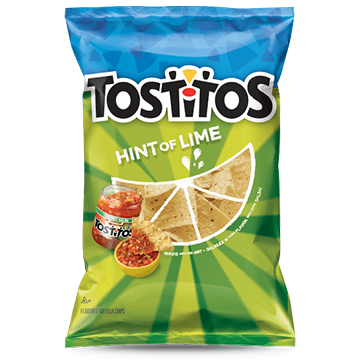 Tostitos Hint of Lime 283g