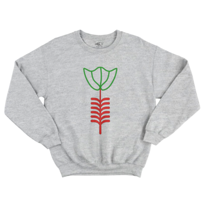 Lebanese Coffee Grey/Red Sweatshirt