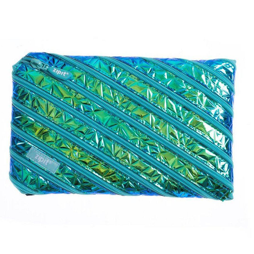 Metallic Jumbo Pouch (Metalic Green)